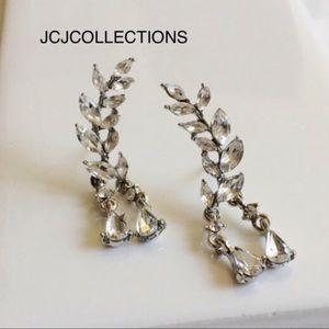 ✨Silver Leaf Earrings/ Tassel Earrings✨